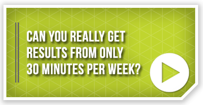 Can I Really Get Results From Only 30 Minutes Per Week?